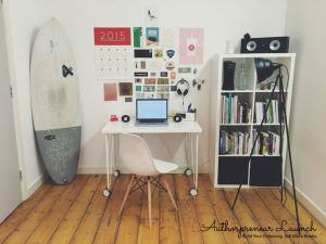 Your Author Writing Space