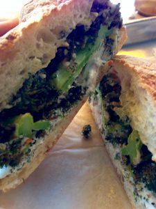 Meal of the Week Broccoli Ricotta Breakfast Sandwich
