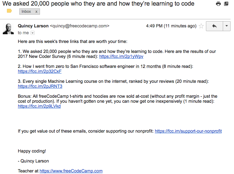 FreeCodeCamp_ExampleEmail