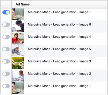 Facebook Ad Example Images
