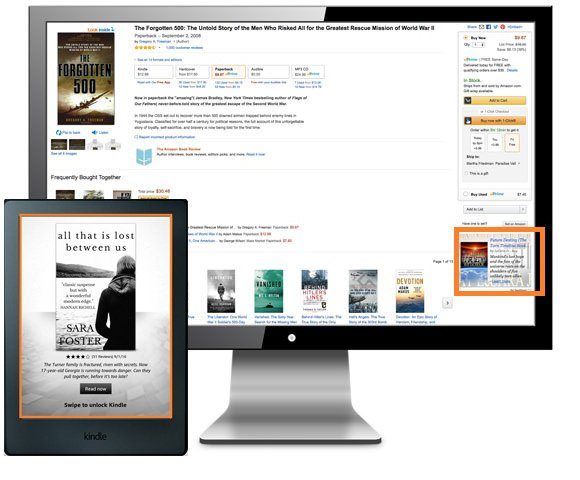 Amazon Kindle Display Advertising