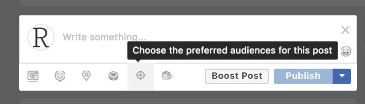 Choose Preferred Audience