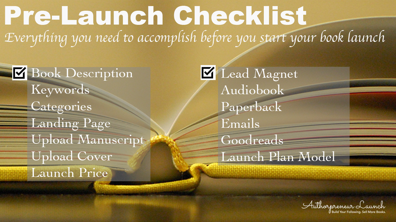 Launch Your Book Like a Pro