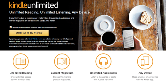 What is Kindle Unlimited?