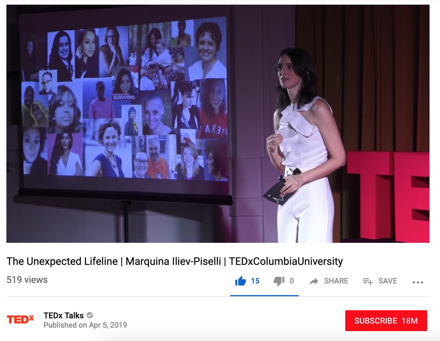 TEDx Talk - The Unexpected Lifeline