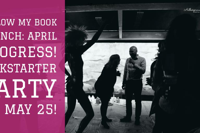 Kickstarter Party May 25th